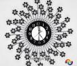 Đồng hồ treo tường hoa lan Tây 02