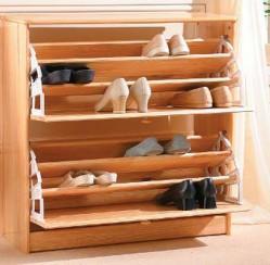 Cách bố trí tủ đựng giầy để tránh tạp khí