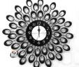 Đồng hồ treo tường đuôi công 03
