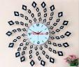 Đồng hồ treo tường vòng xoáy hiện đại