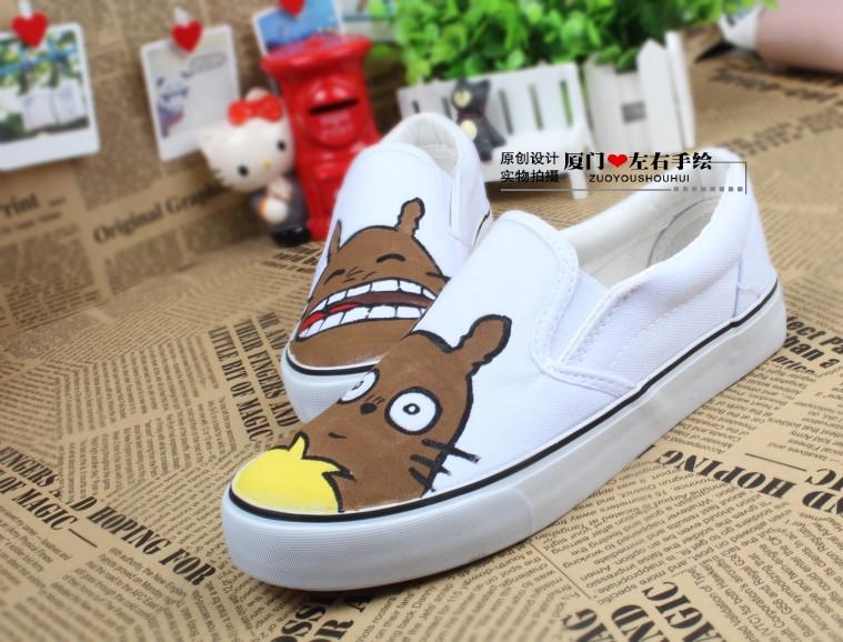 -font-b-Totoro-b-font-hand-painted-font-b-shoes-b-font-font-b-totoro