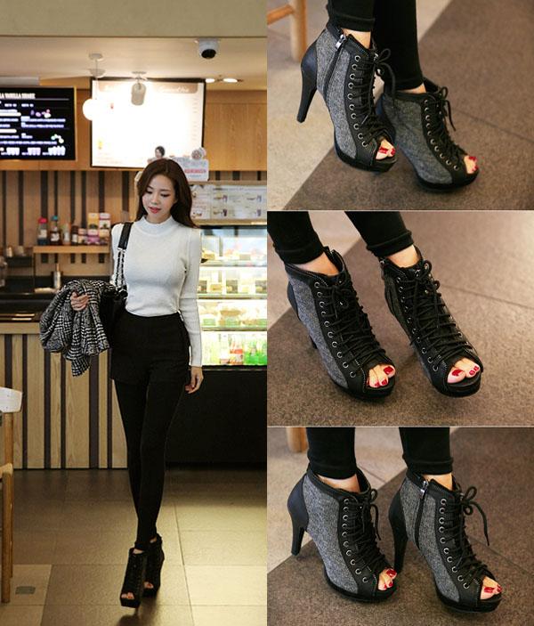 Những đôi giầy mùa đông khiến các bạn nữ mê mệt | giày đẹp,giày nữ,mẫu bốt nữ cổ thấp,giày đẹp cho bạn gái,thời trang bạn gái